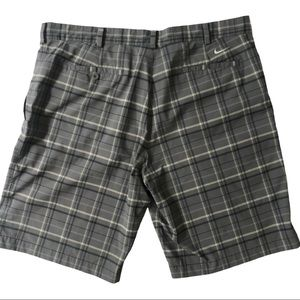 Nike Dri-Fit Plaid Golf Shorts Sz 40